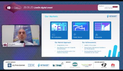 Εταιρική Παρουσίαση: Μάνος Αρκάς, Senior Product Manager, Banking & Finance, Intrasoft International