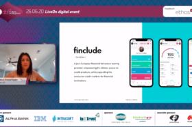 Εταιρική Παρουσίαση: Ιωάννα Στανεγλούδη, co-Founder & Chief Risk Officer, Finclude